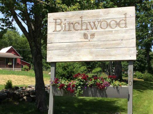 birchwood road sign